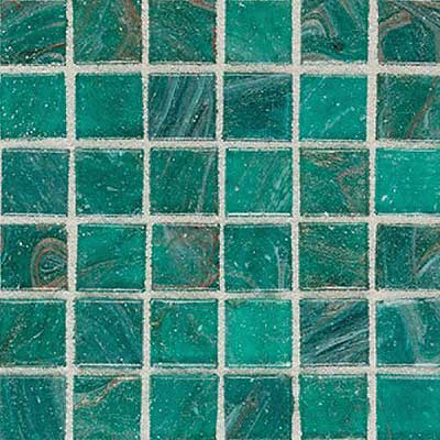Daltile Elemental Glass Mosaic 3/4 x 3/4 Blue Lagoon EL09 11PM1P