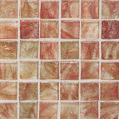 Daltile Elemental Glass Mosaic 3/4 x 3/4 Cinnamon Stick EL03 11PM1P