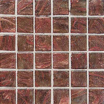 Daltile Elemental Glass Mosaic 3/4 x 3/4 Copper Kettle EL01 11PM1P