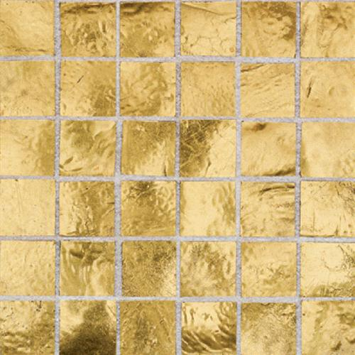Daltile Elemental Glass Mosaic 3/4 x 3/4 Gold Nugget EL24 11PM1P