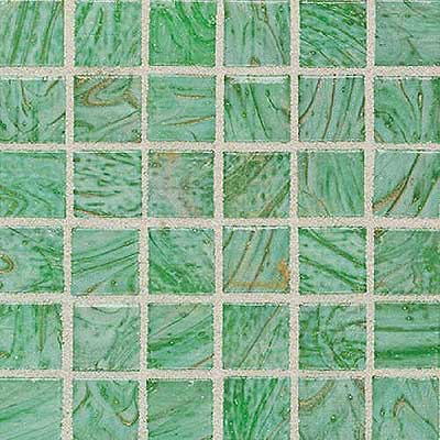 Daltile Elemental Glass Mosaic 3/4 x 3/4 Kiwi Punch EL17 11PM1P