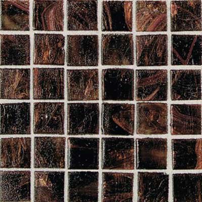 Daltile Elemental Glass Mosaic 3/4 x 3/4 Rootbeer Float EL04 11PM1P