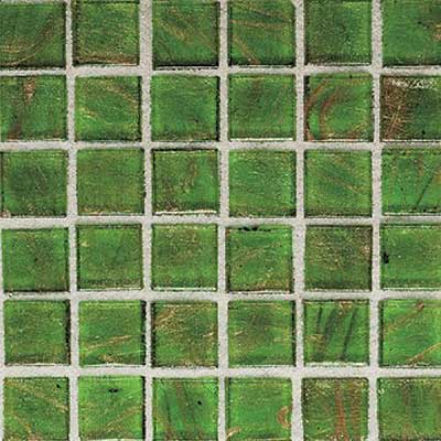 Daltile Elemental Glass Mosaic 3/4 x 3/4 Sour Apple EL19 11PM1P