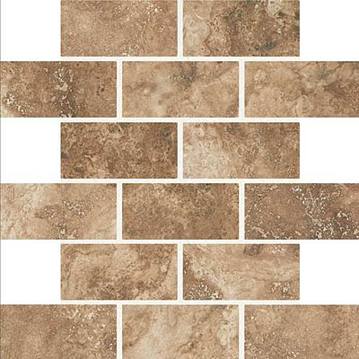 Daltile Esta Villa Mosaic 2 x 4 Cottage Brown EV99
