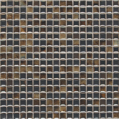 Daltile Fashion Accents Illumini 5/8 x 5/8 Mosaic F012 Umber F0125858MS1P
