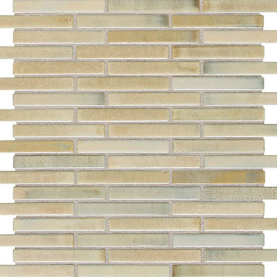 Daltile Fashion Accents Illumini 5/8 x 3 Mosaic F013 Sand F013583MS1P