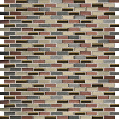 Daltile Fashion Accents Shimmer Brix FA63 Copper Blend FA631212BMS1P