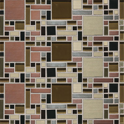Daltile Fashion Accents Shimmer Fortress FA63 Copper Blend FA631212MGMS1P
