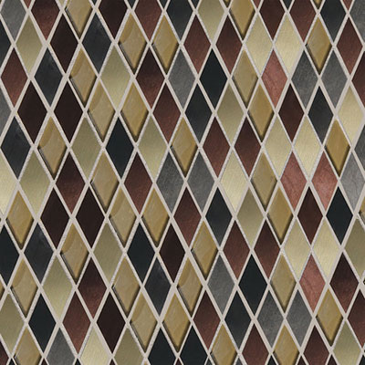 Daltile Fashion Accents Shimmer Harlequin Copper Blend FA6311HARMS1P