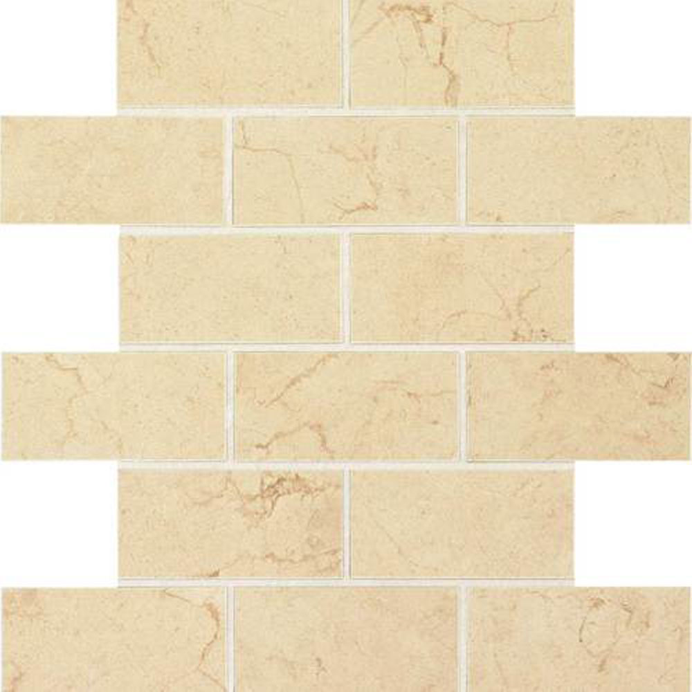 Daltile Florentine Brick Joint Mosaic 2x4 Tile Stone Colors
