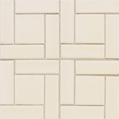Daltile Earthen Art Folio #1 (1 x 4) Pinwheel Ivory Coast
