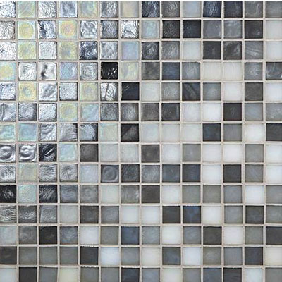 Daltile Glass Horizons Mosaic Blends Arctic Blend GH15 3434PM1P