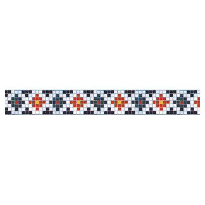 Daltile Glass Mosaic 6 Cross 707223