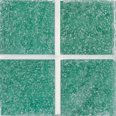 Daltile Glass Mosaic - Venetian Glass 3/4 x 3/4 Aqua Green VG09 3434PM1P
