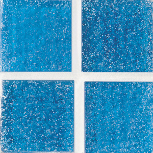 Daltile Glass Mosaic - Venetian Glass 3/4 x 3/4 Cancun Blue VG05 3434PM1P