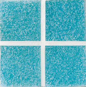 Daltile Glass Mosaic - Venetian Glass 3/4 x 3/4 Caribbean Green VG10 3434PM1P