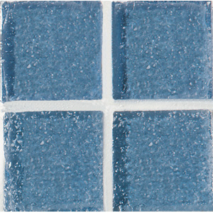 Daltile Glass Mosaic - Venetian Glass 3/4 x 3/4 Crystal Blue VG07 3434PM1P