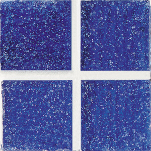 Daltile Glass Mosaic - Venetian Glass 3/4 x 3/4 Dark Cobalt VG02 3434PM1P