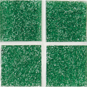 Daltile Glass Mosaic - Venetian Glass 3/4 x 3/4 Emerald Green VG24 3434PM1P
