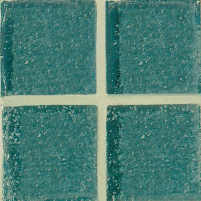 Daltile Glass Mosaic - Venetian Glass 3/4 x 3/4 Greenish Blue VG28 3434PM1P