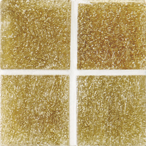 Daltile Glass Mosaic - Venetian Glass 3/4 x 3/4 Honey VG03 3434PM1P