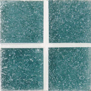 Daltile Glass Mosaic - Venetian Glass 3/4 x 3/4 Ixtapa Blue VG37 3434PM1P