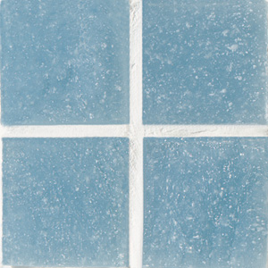 Daltile Glass Mosaic - Venetian Glass 3/4 x 3/4 Steel Blue VG27 3434PM1P
