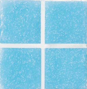 Daltile Glass Mosaic - Venetian Glass 3/4 x 3/4 Turquoise VG38 3434PM1P