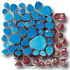 Glass Pebbles Mosaic