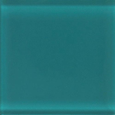 Daltile Glass Reflections Gloss Mosaic 1 x 1 Almost Aqua GR05 11MS1P