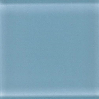Daltile Glass Reflections 4 1/4 x 8 1/2 Frosted Blue Lagoon GR11 48F1P