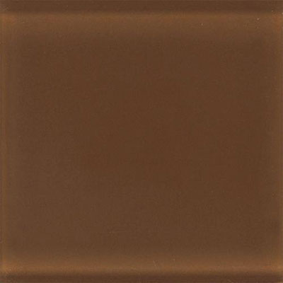 Daltile Glass Reflections 4 1/4 x 8 1/2 Frosted Caramel Sunday GR19 48F1P