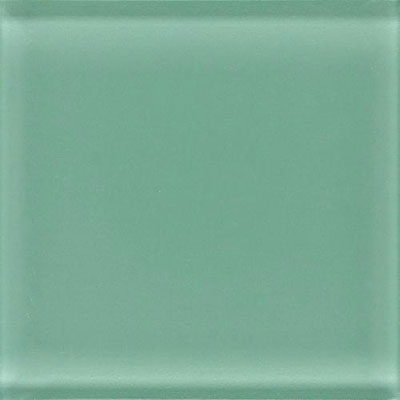 Daltile Glass Reflections Liner 1 x 6 Serene Green GR03 161P