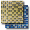 Glass Reflections Blends Mosaic 1 x 1 (Gloss)