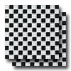 Glass Reflections Checkerboard Mosaic 1 x 1 (Gloss)