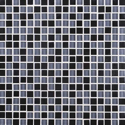 Daltile Granite Radiance Mosaic (PTS) Absolute Black Blend GR61 5858MS1P