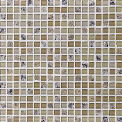 Daltile Granite Radiance Mosaic (PTS) New Venetian Gold Blend GR54 5858MS1P