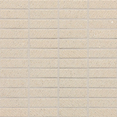 Daltile Identity Fabric Visual Mosaic Unpolished Bistro Cream MY21 13MS1P2