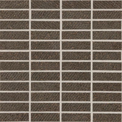 Daltile Identity Fabric Visual Mosaic Unpolished Oxford Brown MY24 13MS1P2