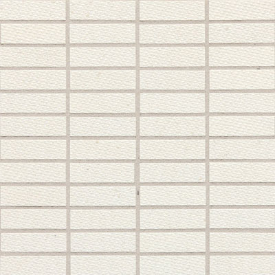 Daltile Identity Fabric Visual Mosaic Unpolished Paramount White MY20 13MS1P2