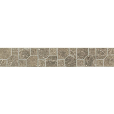 Daltile Incan Stones Border Cafe Tobacco Honed Parral Border 2 x 12 M759 212BRA1U