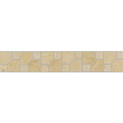 Daltile Incan Stones Border Champagne Gold Honed Parral Border 2 x 12 M760 212BRA1U