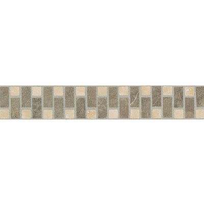 Daltile Incan Stones Border Torreon Cafe Tobacco Honed Velez Border 3 x 12 IC86 212BR1U