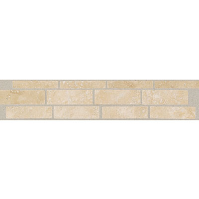 Daltile Incan Stones Border Torreon Honed Burgos Border 2 1/2 x 12 T711 212BR1U