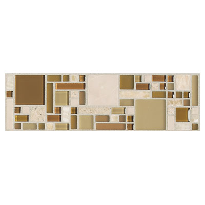 Daltile Innova Ceramic Borders Magic Horizon Border IV98 312BR1P