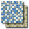 Illustrations Glass Mosaic 1 x 1 Blends