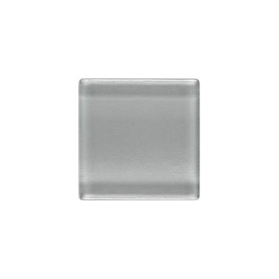 Daltile Isis Glass Mosaic 1 x 1 Mesh Mounted Pewter Gray IS23 11MS1P