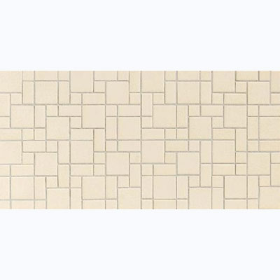 Daltile Keystones Blends 1 x 1 Mosaic Almond D335 11MSP