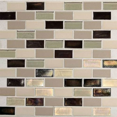 Daltile Keystones Coastal 2 x 1 Offset Sunset Cove Blend CK89 21BJPM1P