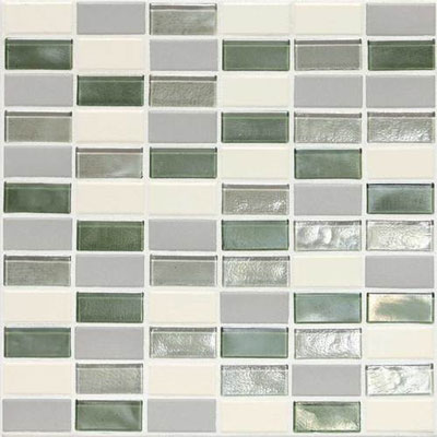 Daltile Keystones Coastal 2 x 1 Straight Caribbean Palm Blend CK87 21PM1P